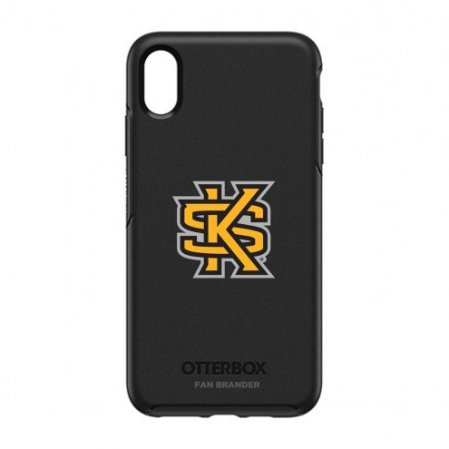 Kennesaw State Owls OtterBox iPhone XS Max Symmetry Black Case
