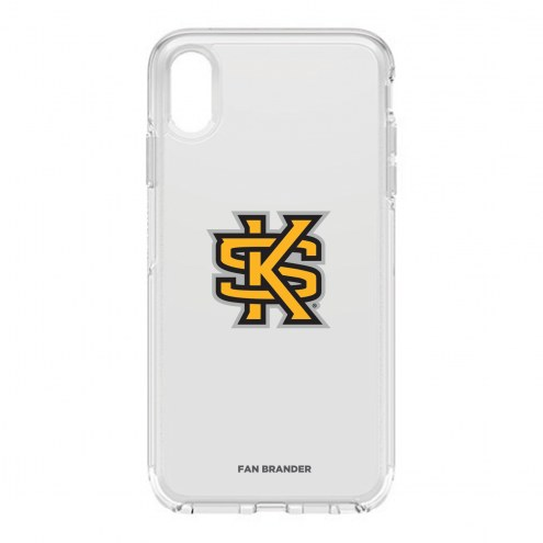 Kennesaw State Owls OtterBox iPhone XS Max Symmetry Clear Case
