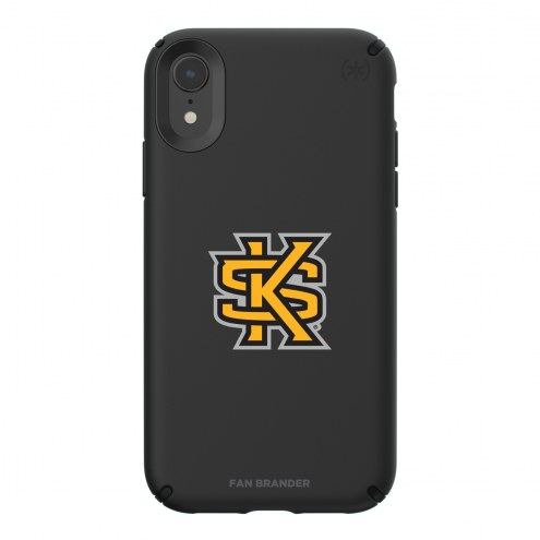 Kennesaw State Owls Speck iPhone XR Presidio Pro Black Case