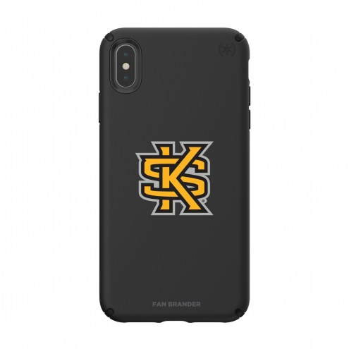 Kennesaw State Owls Speck iPhone XS Max Presidio Pro Black Case