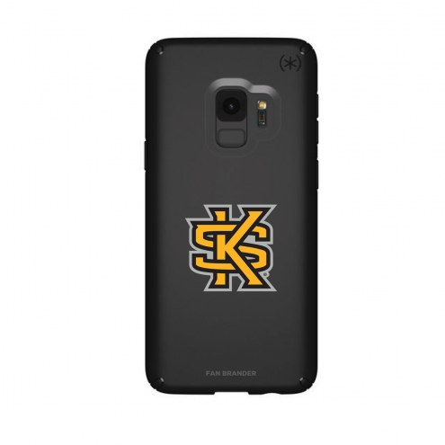 Kennesaw State Owls Speck Samsung Galaxy S9 Presidio Black Case