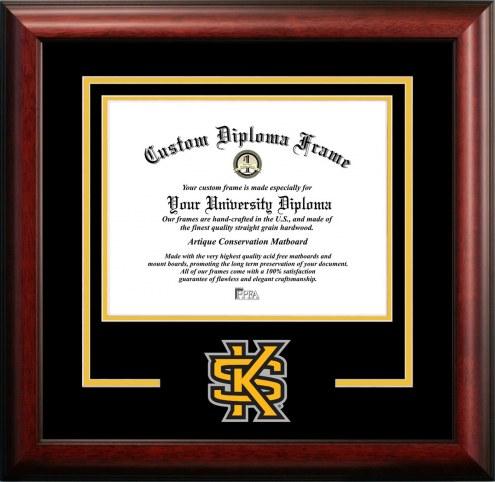 Kennesaw State Owls Spirit Diploma Frame