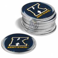 Kent State Golden Flashes 12-Pack Golf Ball Markers