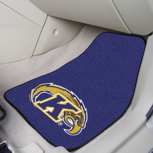 Kent State Golden Flashes 2-Piece Carpet Car Mats