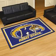 Kent State Golden Flashes 5' x 8' Area Rug