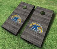 Kent State Golden Flashes Cornhole Board Set