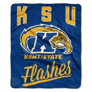 Kent State Golden Flashes Alumni Raschel Throw Blanket