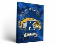 Kent State Golden Flashes Banner Canvas Wall Art