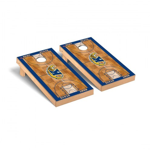 Kent State Golden Flashes Basketball Court Cornhole Game Set
