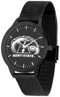 Kent State Golden Flashes Black Dial Mesh Statement Watch