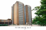 Kent State Golden Flashes Campus Images Lithograph
