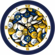 Kent State Golden Flashes Candy Wall Clock