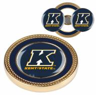 Kent State Golden Flashes Challenge Coin with 2 Ball Markers