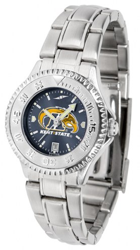 Kent State Golden Flashes Competitor Steel AnoChrome Women's Watch