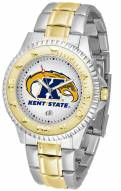 Kent State Golden Flashes Competitor Two-Tone Men's Watch