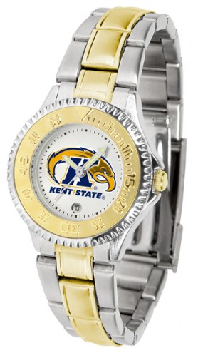 Kent State Golden Flashes Competitor Two-Tone Women's Watch