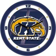 Kent State Golden Flashes Dimension Wall Clock