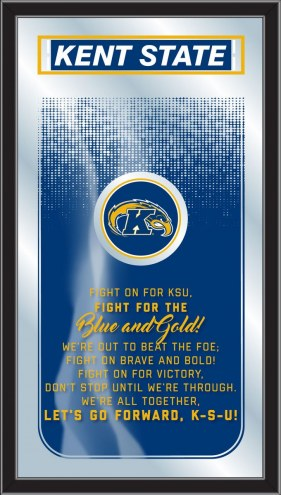 Kent State Golden Flashes Fight Song Mirror