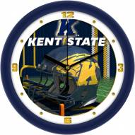Kent State Golden Flashes Football Helmet Wall Clock