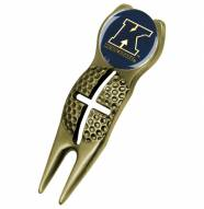 Kent State Golden Flashes Gold Crosshairs Divot Tool
