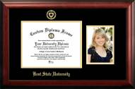 Kent State Golden Flashes Gold Embossed Diploma Frame with Portrait