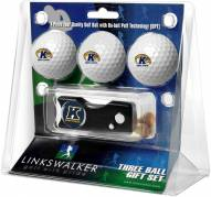 Kent State Golden Flashes Golf Ball Gift Pack with Spring Action Divot Tool