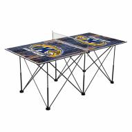 Kent State Golden Flashes Pop Up 6' Ping Pong Table