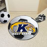 Kent State Golden Flashes Soccer Ball Mat
