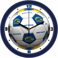 Kent State Golden Flashes Soccer Wall Clock
