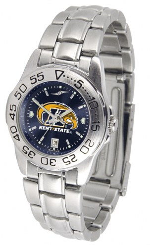 Kent State Golden Flashes Sport Steel AnoChrome Women's Watch