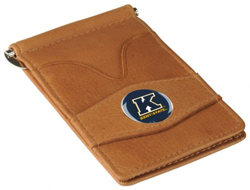 Kent State Golden Flashes Tan Player's Wallet