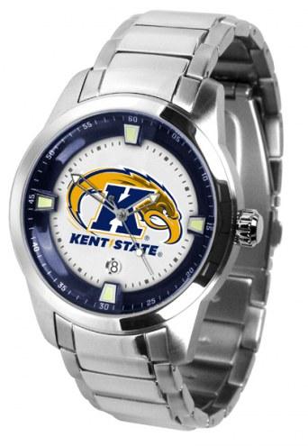 Kent State Golden Flashes Titan Steel Men's Watch