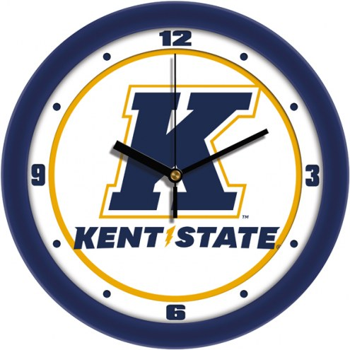 Kent State Golden Flashes Traditional Wall Clock