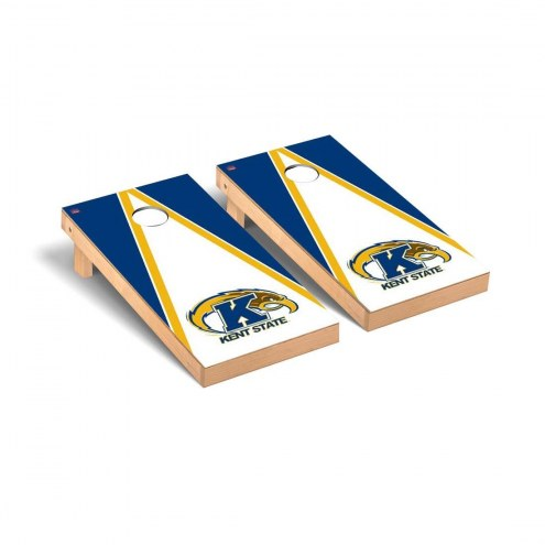 Kent State Golden Flashes Triangle Cornhole Game Set
