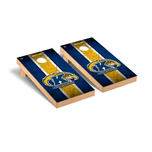 Kent State Golden Flashes Vintage Cornhole Game Set
