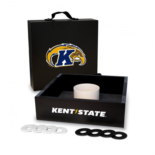Kent State Golden Flashes Washer Toss Game Set