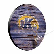 Kent State Golden Flashes Weathered Design Hook & Ring Game