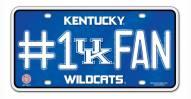 Kentucky Wildcats #1 Fan License Plate