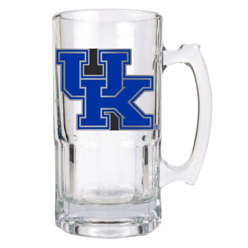 Kentucky Wildcats College 1 Liter Glass Macho Mug