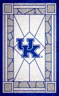 "Kentucky Wildcats 11"" x 19"" Stained Glass Sign"