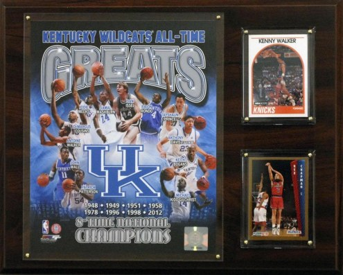 """Kentucky Wildcats 12"""" x 15"""" All-Time Greats Photo Plaque"""