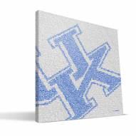 "Kentucky Wildcats 16"" x 16"" Typo Canvas Print"