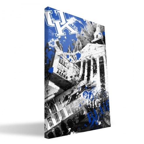 """Kentucky Wildcats 16"""" x 24"""" Spirit Canvas Print"""
