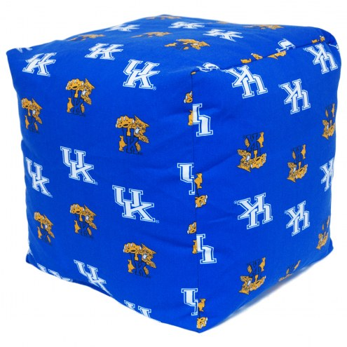 "Kentucky Wildcats 18"" x 18"" Cube Cushion"