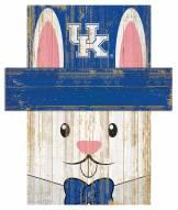 """Kentucky Wildcats 19"""" x 16"""" Easter Bunny Head"""