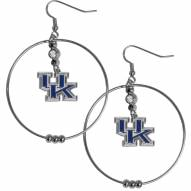 "Kentucky Wildcats 2"" Hoop Earrings"
