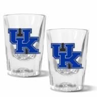 Kentucky Wildcats 2 oz. Prism Shot Glass Set