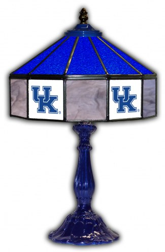"Kentucky Wildcats 21"" Glass Table Lamp"