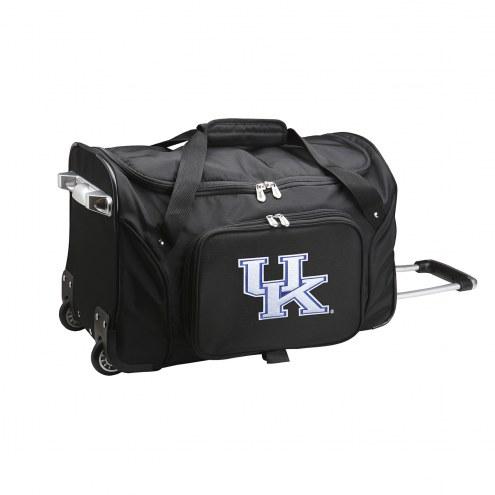 """Kentucky Wildcats 22"""" Rolling Duffle Bag"""