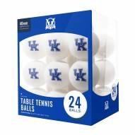 Kentucky Wildcats 24 Count Ping Pong Balls